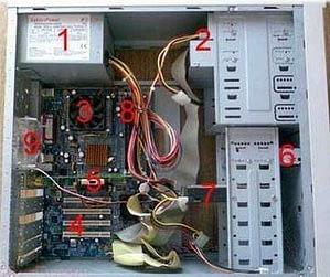 Периодически удалять пыль из проблемных мест - важный момент в эксплуатации компьютера.