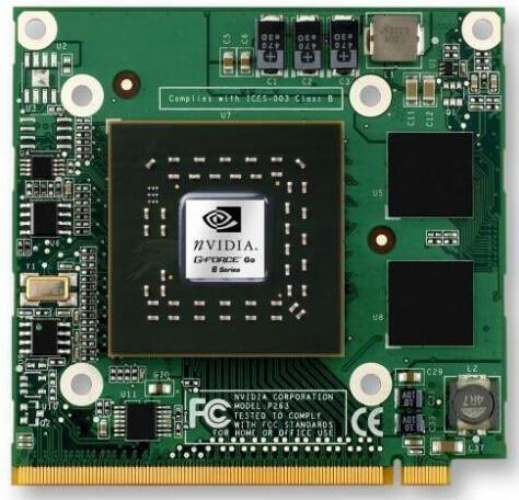 Дискретная видеокарта GeForce для ноутбука