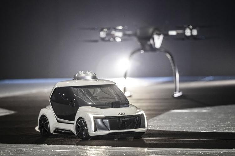Видео дня: прототип летающего такси Audi, Airbus и Italdesign, Paratechnik.ru