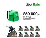 Uber Eats: год работы сервиса доставки еды в Украине, Paratechnik.ru